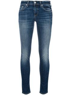 облегающие джинсы с эффектом потертости Rag & Bone /Jean