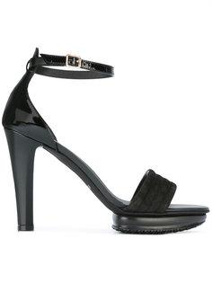 босоножки на высоком каблуке с ремешком Hogan