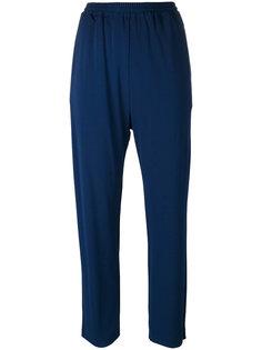 укороченные спортивные брюки Jil Sander