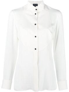 блузка с нагрудной панелью Giorgio Armani