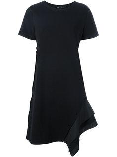 асимметричное платье-футболка  Proenza Schouler