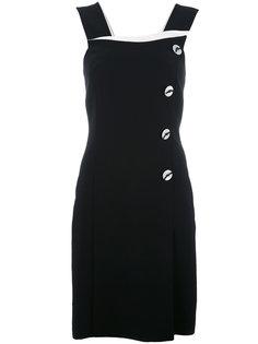 платье с панелью на пуговицах Giorgio Armani