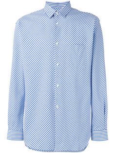 полосатая рубашка Bias Comme Des Garçons Shirt