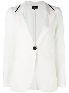 пиджак с воротником-поло Giorgio Armani