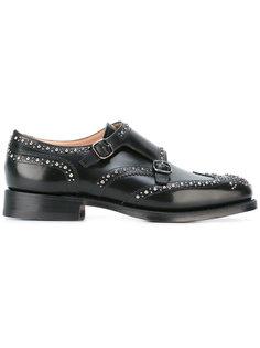 туфли-монки с заклепками Churchs