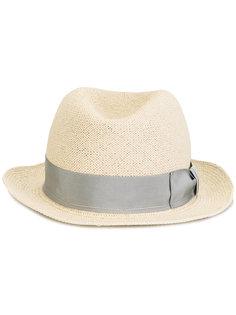шляпа с контрастной тесьмой Giorgio Armani