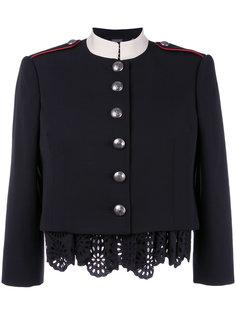 пиджак в стиле милитари Alexander McQueen