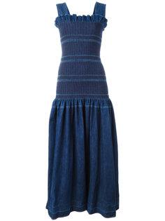 джинсовое платье с заниженной талией Stella McCartney