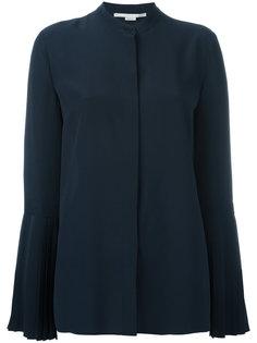 рубашка с плиссированными манжетами Stella McCartney