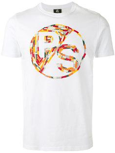 футболка с разноцветным графическим логотипом Ps By Paul Smith