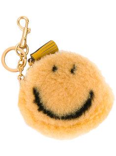 брелок в виде кошелька для мелочи Smiley Anya Hindmarch