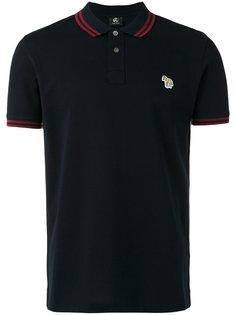 узкая рубашка-поло с фирменной отделкой Ps By Paul Smith