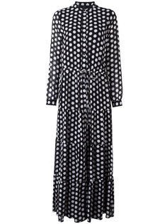 платье с узором в горох и завязками на поясе Michael Michael Kors