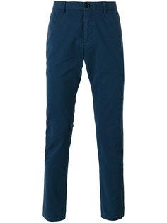 узкие брюки-чинос с фирменной нашивкой Ps By Paul Smith