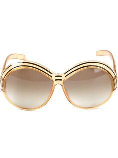 солнцезащитные очки в круглой оправе Christian Dior Vintage