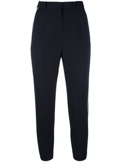 брюки с контрастными полосками Alexander McQueen