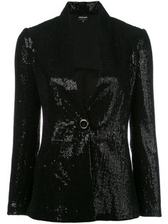 пиджак с пайетками Giorgio Armani