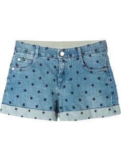 джинсовые шорты  Stella McCartney