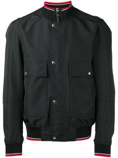 куртка-бомбер с воротником в рубчик Dior Homme