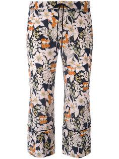 брюки с цветочным принтом LAutre Chose