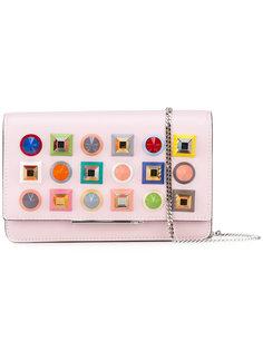 кошелек на цепочке с заклепками Fendi