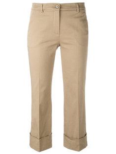 укороченные брюки с отворотами LAutre Chose