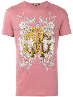 футболка с принтом Gold Roberto Cavalli