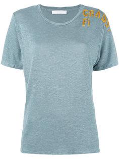 футболка с вышивкой Grade Fi Water