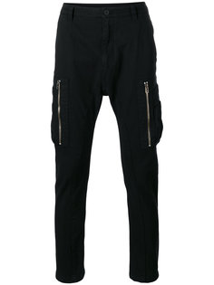 core twill cargo pants Helmut Lang