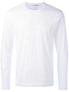 футболка с принтом логотипа на спине Comme Des Garçons Shirt