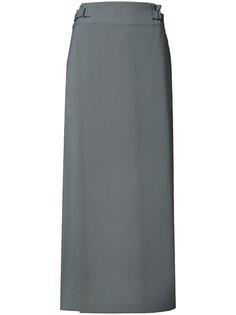 брюки с накладной панелью спереди Issey Miyake
