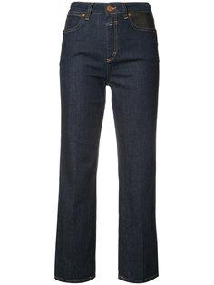 укороченные джинсы с завышенной талией Closed