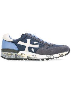 кроссовки с панельным дизайном Premiata White