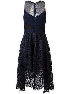 прозрачное платье с вырезными деталями Jonathan Simkhai