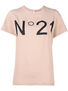 футболка с логотипом бренда Nº21