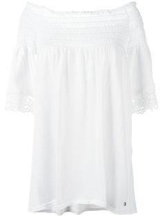 блузка с открытыми плечами Twin-Set