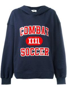 толстовка с капюшоном Combat Soccer MSGM