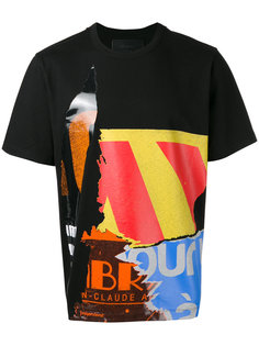 футболка с принтами Juun.J