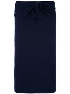 юбка-карандаш с декоративным узлом Aspesi