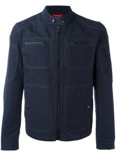 collarless jacket Fay