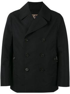 Double-breasted coat Sealup