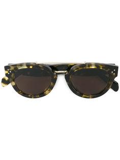 tortoiseshell preppy Havana sunglasses Céline Eyewear