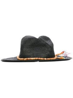 Crochet Tagua bead panama hat  Sensi Studio