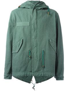 пальто на молнии с капюшоном Mr & Mrs Italy