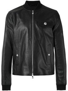 flap pocket jacket Versus
