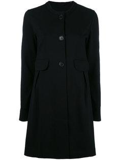 пальто со складками сзади Aspesi