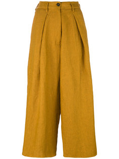 укороченные брюки с завышенной талией Forte Forte