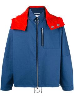куртка дизайна колор-блок Oamc