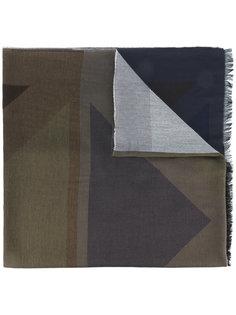 шарф с геометрическим принтом Paul Smith