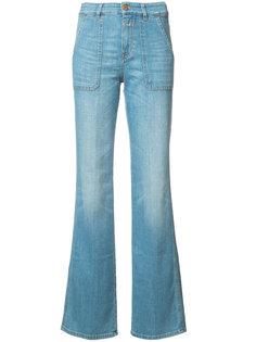 джинсы с завышенной талией Closed